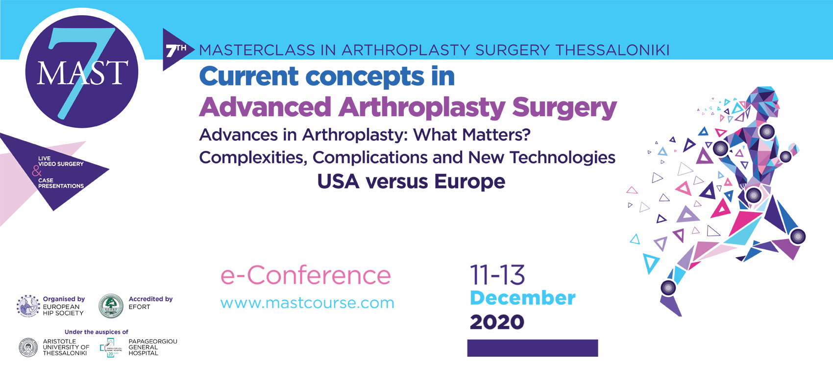 7th Masterclass in Arthroplasty Surgery Thessaloniki - Current Concepts in Advanced Arthroplasty Surgery