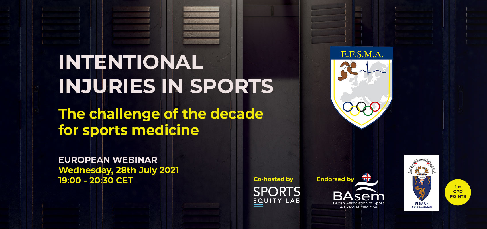 Intentional injuries in sports — The challenge of the decade for sports medicine